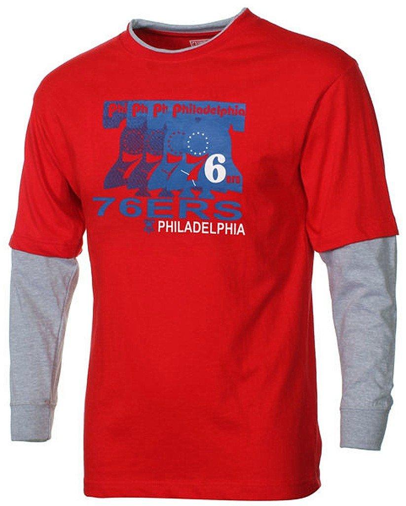 最新人気 Philadelphia 76ers B01C7KZNNY NBA 76ers Boys NBA Hangingスリーブクルーネックシャツレッドユースサイズ Medium B01C7KZNNY, タカオノチョウ:ebf511dd --- a0267596.xsph.ru