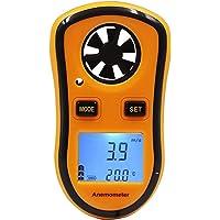 FISHTEC ® Digital Anemometer - Wind Speed/Temperature/Beaufort Schaal - Ideaal voor zeilen, vissen, Kiting en…