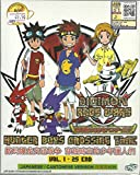 DIGIMON XROS WARS : HUNTER BOYS CROSSING TIME - COMPLETE TV SERIES DVD BOX SET (1-25 EPISODES)