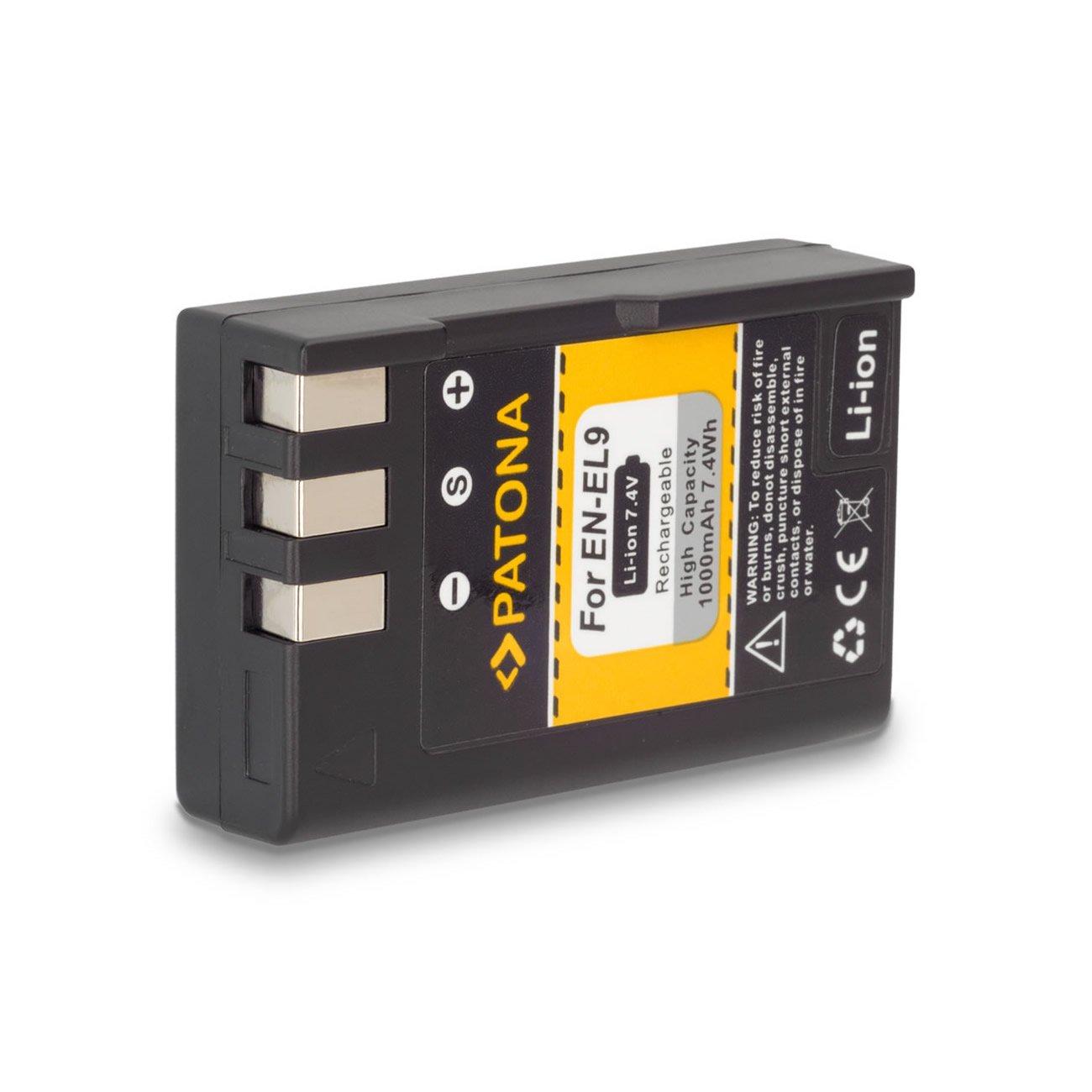Bundle - 4en1 Cargador + Batería EN-EL9 para Nikon SLR-D40   SLR-D40x   DSLR-D60   DSLR-D3000   DSLR-D5000