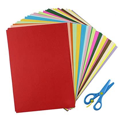Amazon Cocoboo 100 Sheets Bulk Color Origami Papers A4