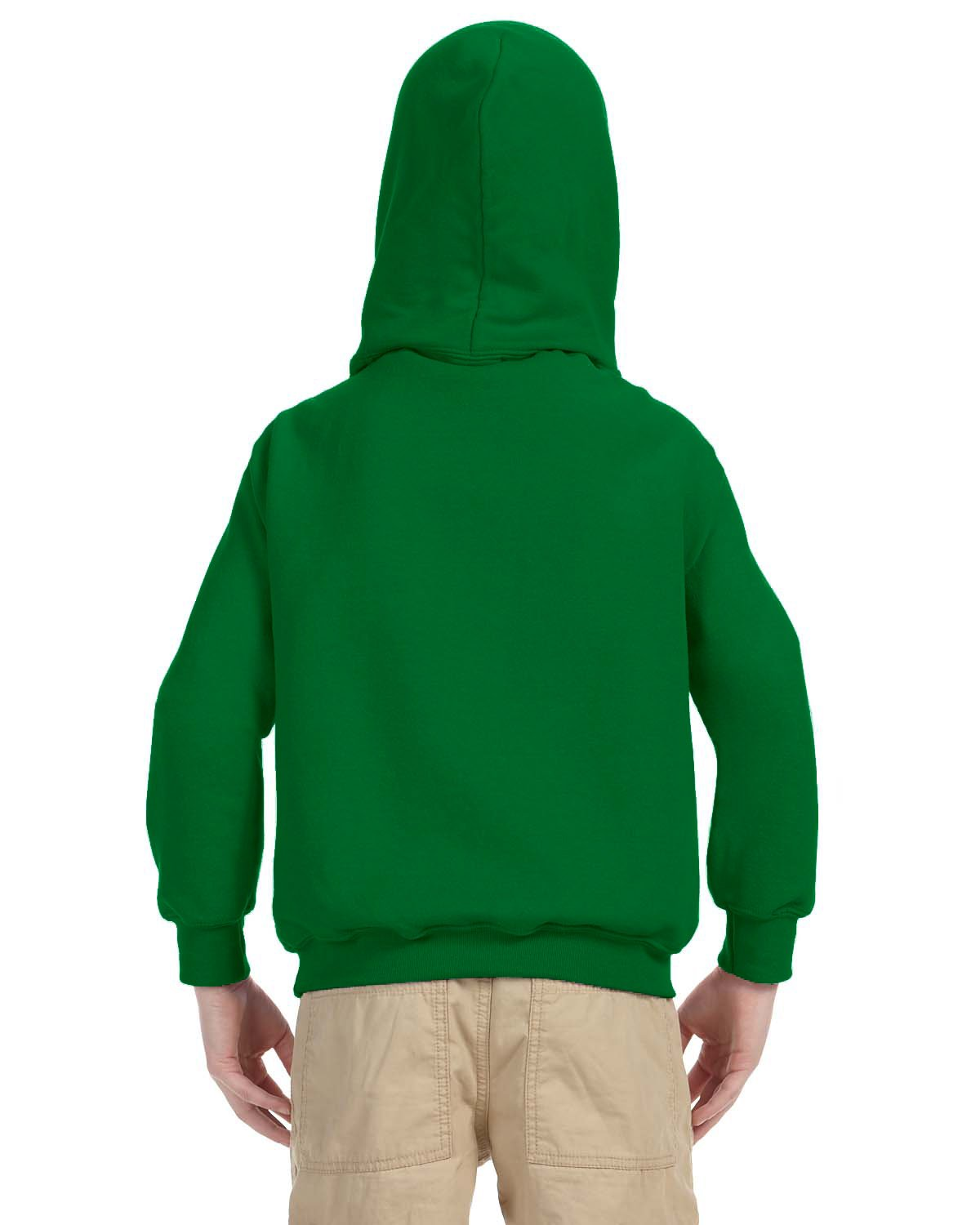 Indica Plateau Kids Hoodie Straight Outta Retirement X-Small Kelly Green Hoodie by Indica Plateau (Image #4)