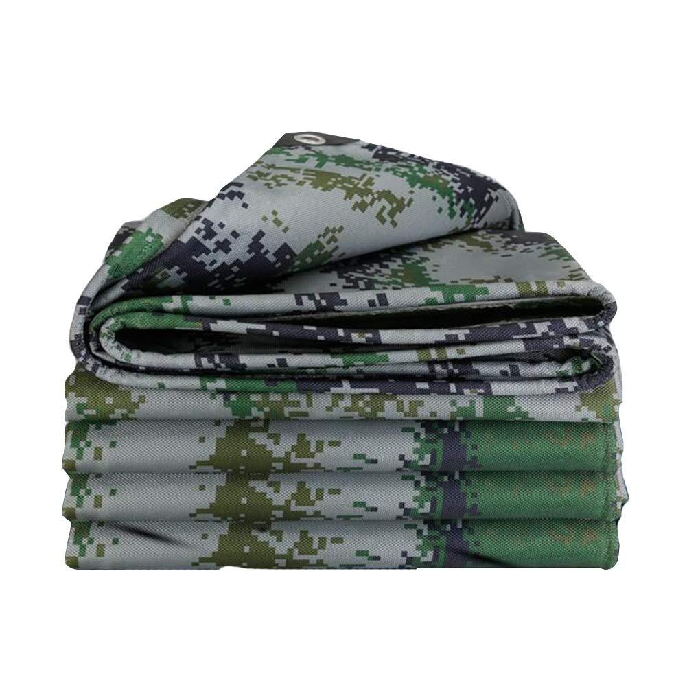 Dall telone Tarp Impermeabile Panno Antipioggia Protezione Solare Tetto Giardinaggio 500g   M² (colore   verde, Dimensioni   1.5  3m)