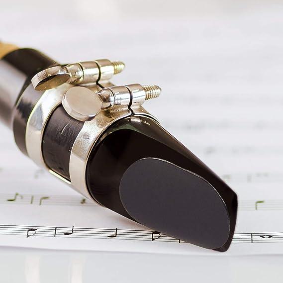 Alt Klarinette und Saxophon MuQ7X3 40 StüCk Sax MundstüCk Kissen 0,8 Mm Tenor