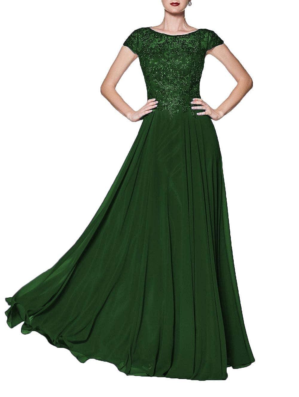 Dark Green Wanshaqin Women's Illusion Neckline Jeweled Waist Long Evening Gown Prom Formal Dress Bridesmaid Gown