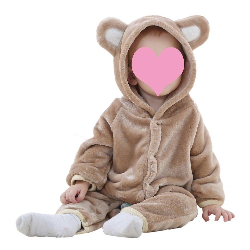 Newborn Baby Toddler Infant Animal Romper Jumpsuit