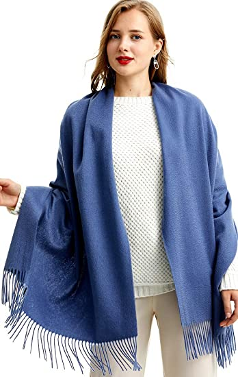Pure Cashmere Pashmina Scarf Shawl Wrap for Men and Women Unisex Scarves Handmad