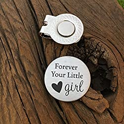 Forever Your Little Girl Golf Ball Marker Father of the Bride Gift Dad Gift Parent Gift for Parent Wedding Day Gift My Little Girl Gift