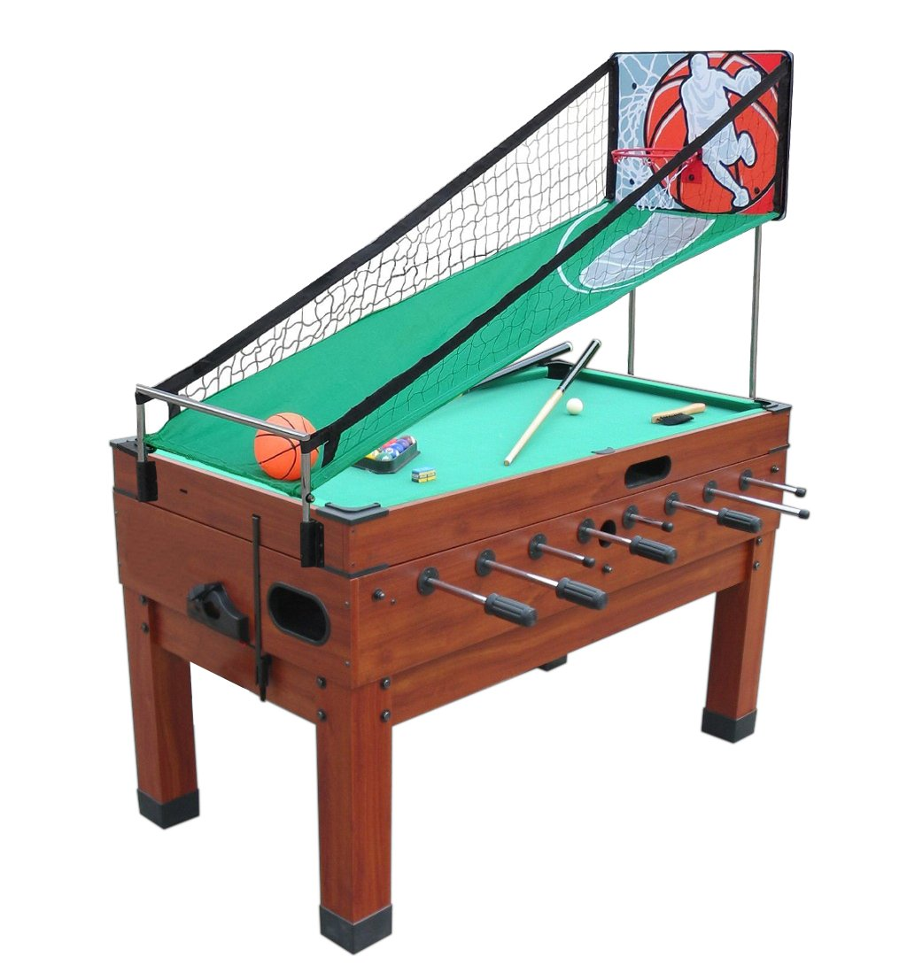 Amazon.com : Playcraft Danbury 14 In 1 Multi Game Table, Cherry :  Combination Game Tables : Sports U0026 Outdoors