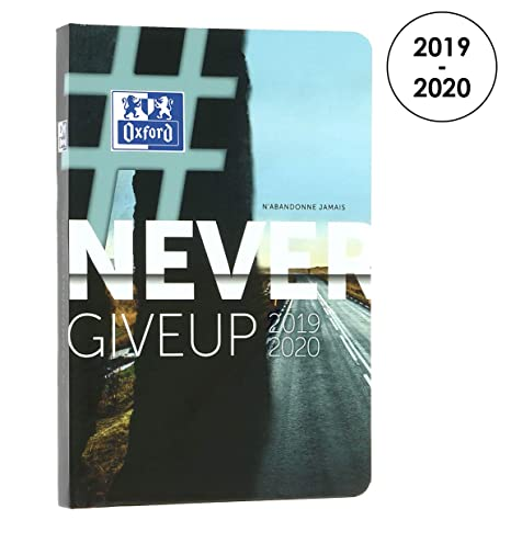 Amazon.com: Oxford 100735768 Never Give Up 2018 – 2019 ...
