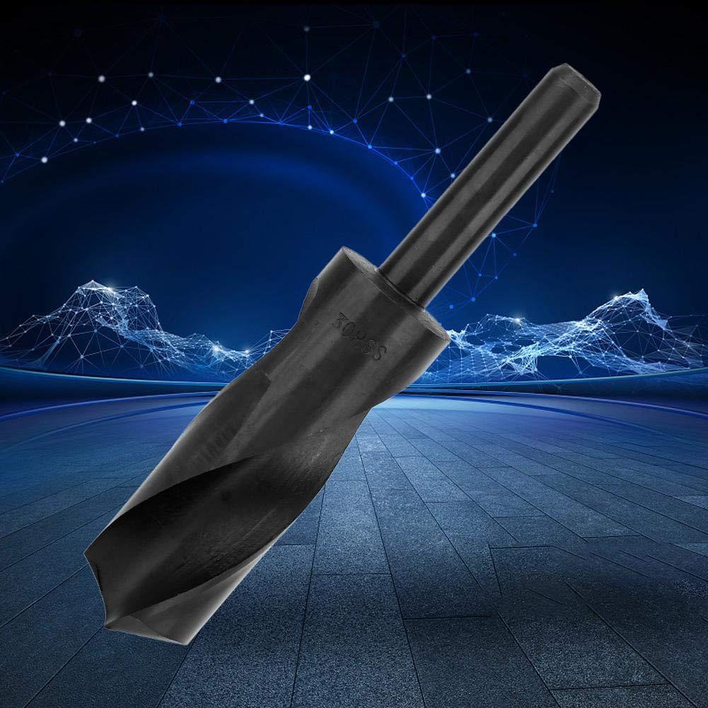 Broca torcida 1//2 30mm brocas de fresado de acero de alta velocidad de v/ástago recto para taladrar metal de maderafalso