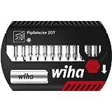 Wiha SB 7947-245 Coffret de 12 Embouts torsion Zot PZ 25 mm avec Porte-embout universel