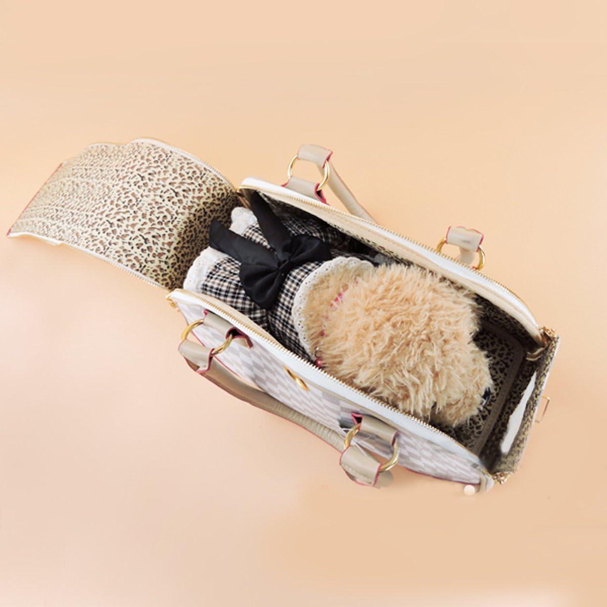 3958-L Marrone YiHao Cane dello Zaino del Sacchetto di Corsa dellanimale Domestico e Il Gatto del Pet del Gatto Lo Zaino di Modo Traspirante