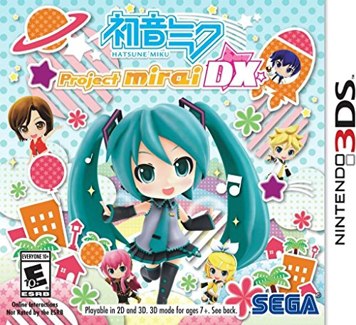 Lion Dance Costume Amazon (Hatsune Miku: Project Mirai DX - Nintendo 3DS)