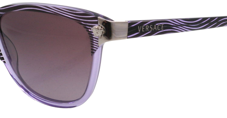 664ade0dab56 Versace Sunglasses VE 4228 958/8H Acetate plastic Purple Gradient Purple:  Amazon.co.uk: Clothing