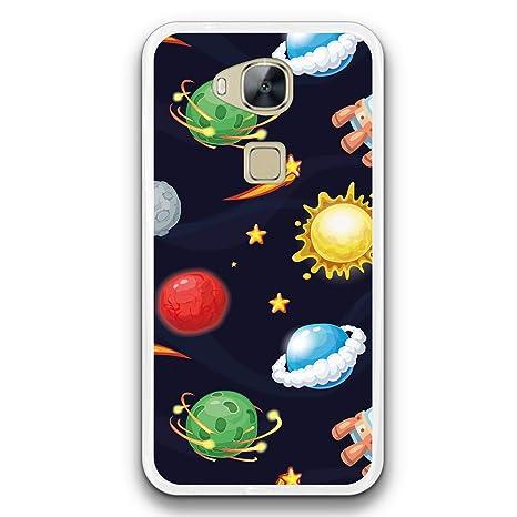 FidelStick Funda Carcasa Gel para Huawei GX8 / G8, Planetas ...