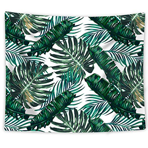 Artiron Wall Hanging Tapestry Palm Leaves Pattern Tapestry Bohemian Tapestries Light-weight Tapestry Home Decor for Bedroom Living Room Dorm Apartment(60