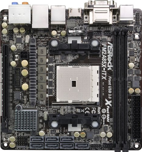 Amazon.com: Asrock Mini ITX DDR3 1600 FM2 placa base FM2 A85 ...