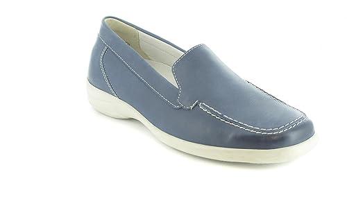 Semler - Mocasines de terciopelo para hombre azul azul 42: Amazon.es: Zapatos y complementos