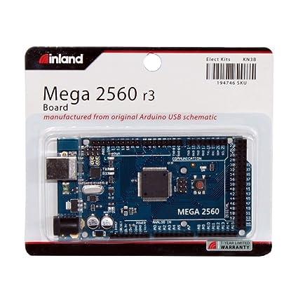 Amazon.com: Inland Arduino Mega 2560: Computers & Accessories on