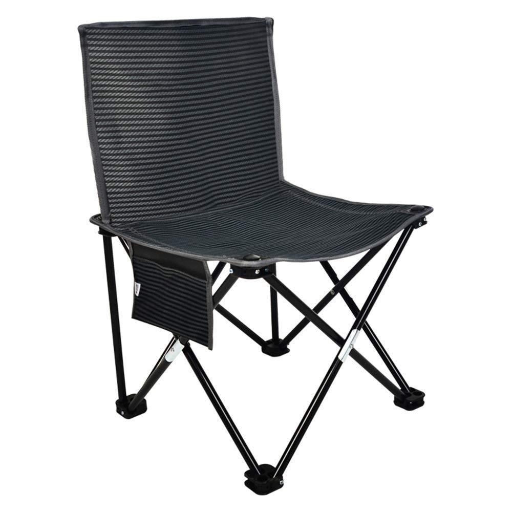 GLZTZ Sedia Pieghevole Portatile Set, Piccolo Sgabello Semplice Sedia da Pesca All'aperto per Il Tempo Libero Mazar Beach Chair (colore   1 Pieces)