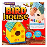 house color ideas Made By Me Bird House With Wind Chime by Horizon Group USA