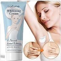 2PCS Whitening Cream, Bleaching Cream, Body Cream for Armpit, Knees, Elbows, Sensitive and Private Areas ,60ML