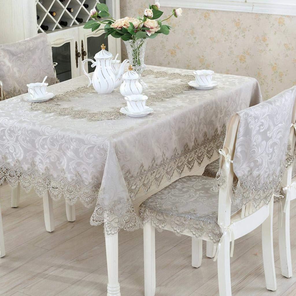 últimos estilos A WENYAO WENYAO WENYAO Water Resistant Tablecloth,Tea tabcloth,Lace [Dining Table] Square Tabtop Cover A diameter120cm(47inch) 110x110cm(43x43inch)  contador genuino