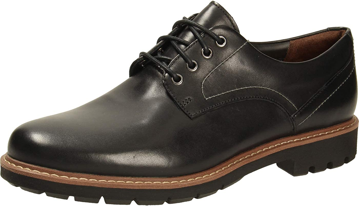 Clarks Batcombe Hall, Zapatos de Cordones Hombre