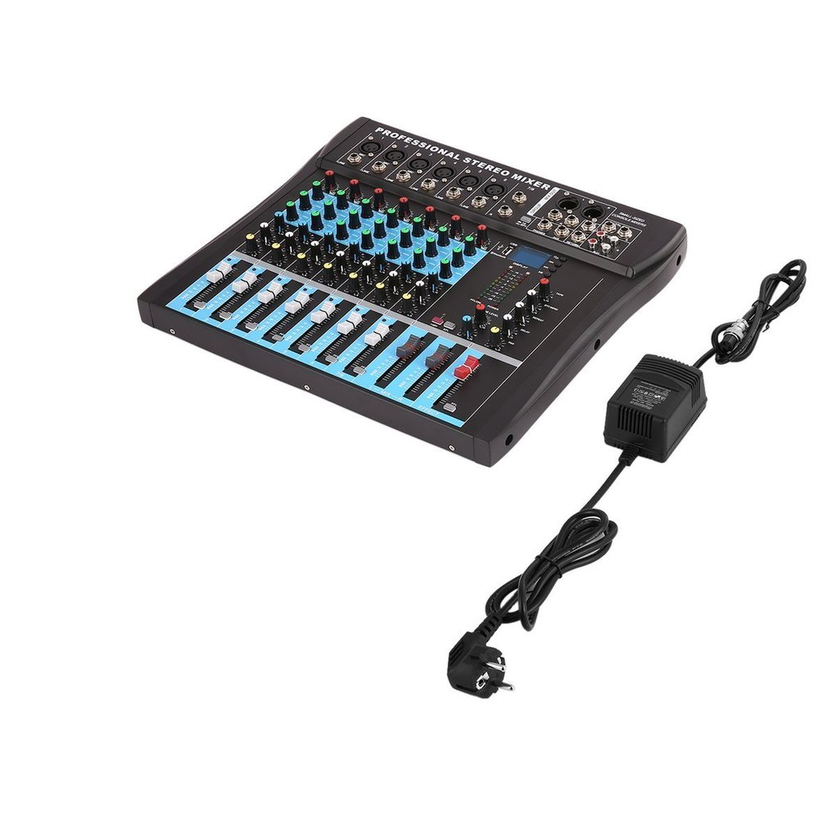 CT8 8 canal profesional estéreo Licuadora Live USB Studio Audio ...
