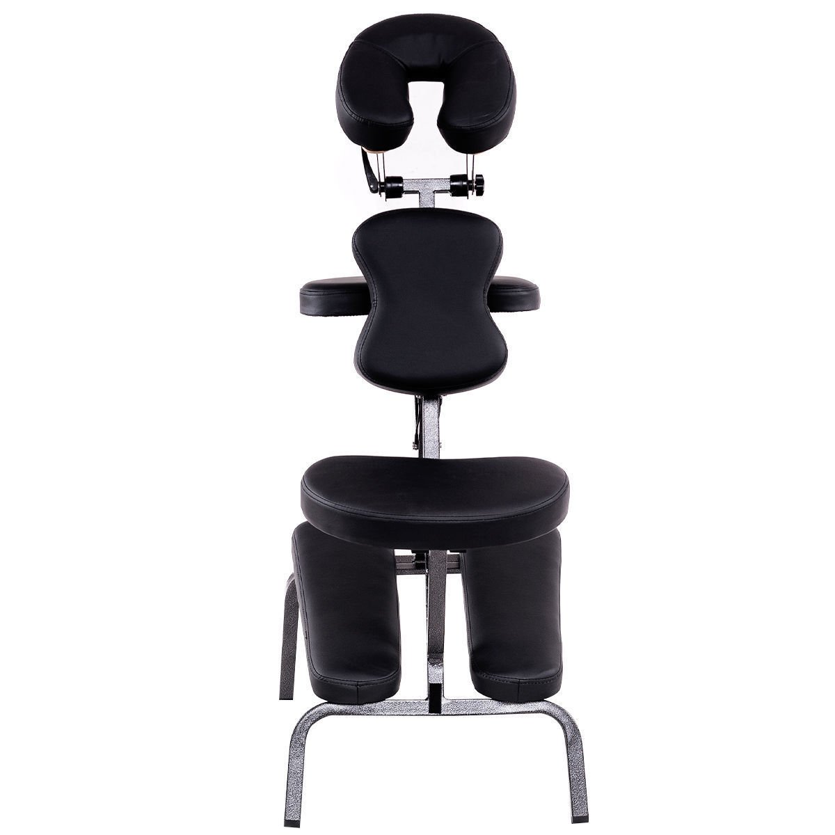 Portable PU Leather Pad Travel Massage Tattoo Spa Chair W/Carrying Bag Black by Allblessings (Image #3)