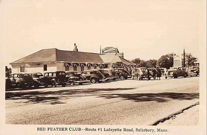 Salisbury Massachusetts street scene Red Feather Club
