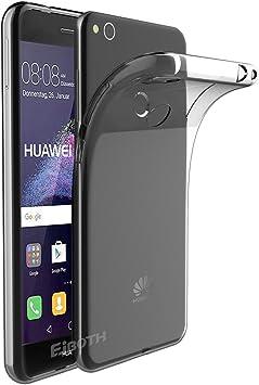 EJBOTH Funda Huawei P8 Lite 2017, TPU Funda Flexible Case Protección Transparente Carcasa para Huawei P8 Lite 2017 / P9 Lite 2017 /Honor 8 Lite/GR3 2017- Resistente Impermeable [Transparente]: Amazon.es: Electrónica