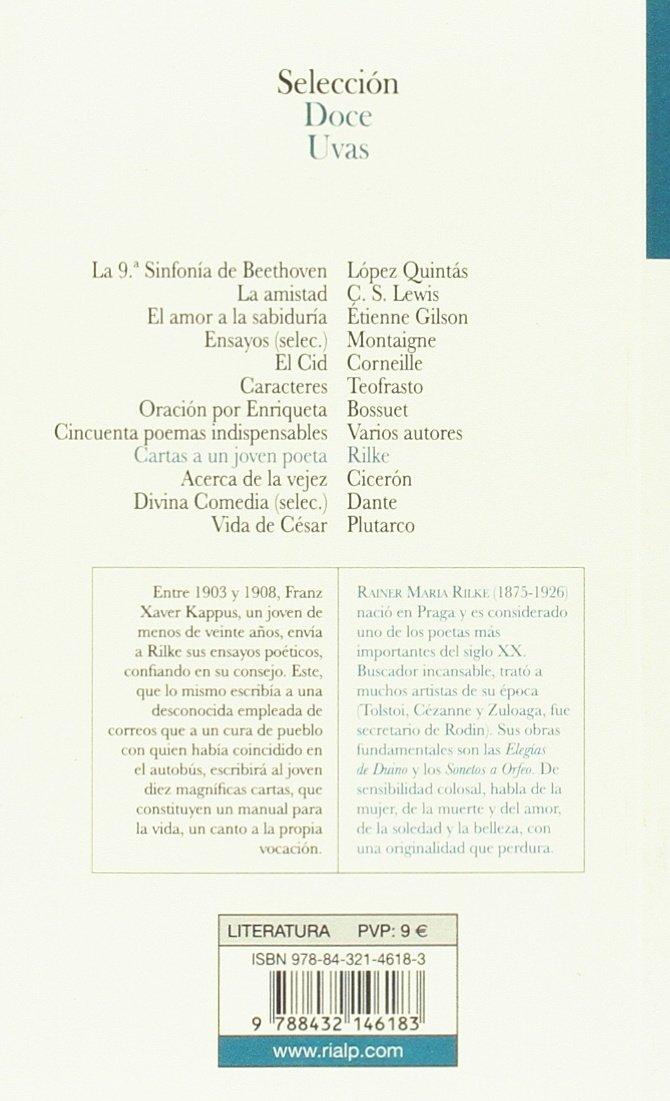 Sdu21. Cartas A Un Joven Poeta (Doce uvas): Amazon.es ...