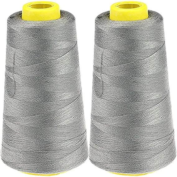 2 Pack 2300 Yard Each Spool Sewing Thread Cones