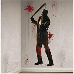 Friday The 13TH Jason Scene Setter Halloween Wall Party Decor Add On | GrandSlamm