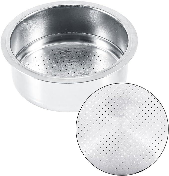 Café 2 Taza 51mm No recipiente del filtro a presión para Breville Delonghi Krups: Amazon.es: Hogar