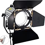 ASHANKS Wireless Remote Control Dimmable Spotlights LED150W LED Studio Fresnel Spot Light 3200-5500K for Camera Photo Video