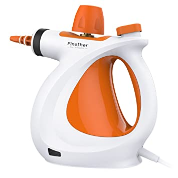 Amazon.com: Finether Handheld Vapor Steam Cleaner All-in-One ...
