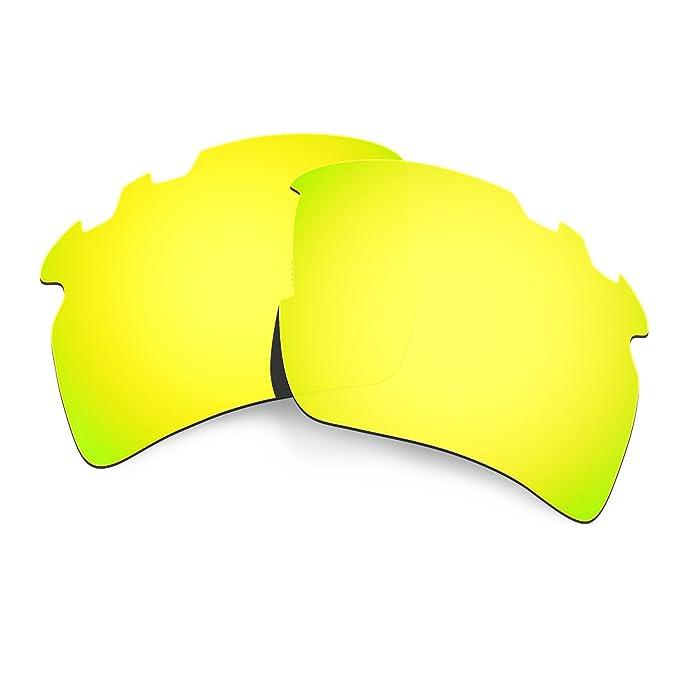 b5da2831dc8 Hkuco Mens Replacement Lenses For Oakley Flak 2.0 XL-Vented Sunglasses 24K  Gold Polarized