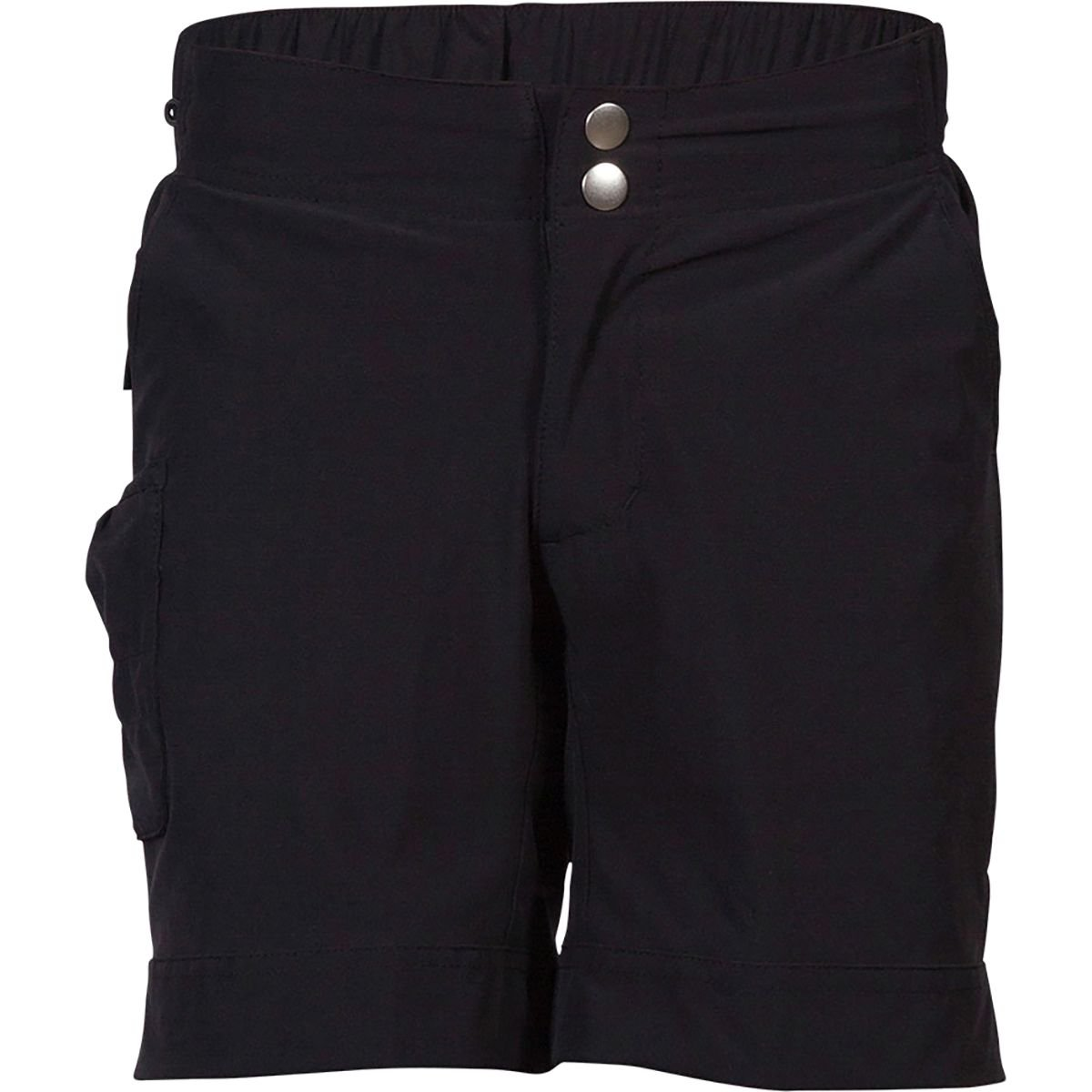 Zoic Girl's Rippette Bike Shorts, Black, X-Large by Zoic