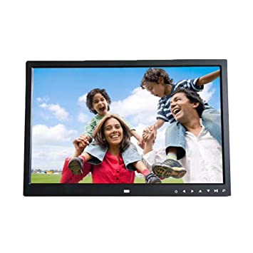 Amazoncom 17 Inch Digital Photo Frame Transer Front Touch Screen