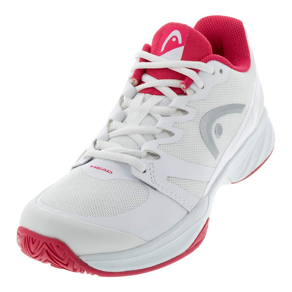 726424795536 HEAD-Women`s Sprint Pro 2.5 Tennis Shoes White and Pink-
