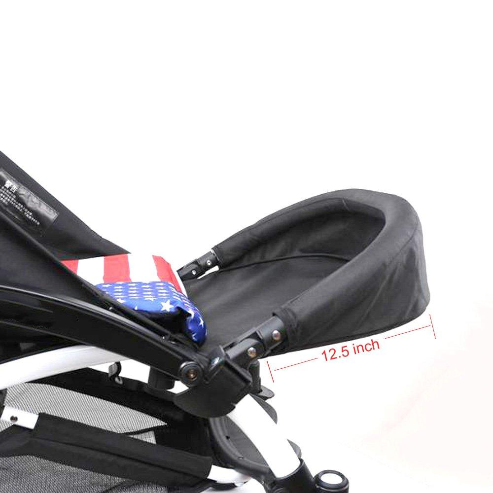 Footrest and Handlebar Compatible for Babyzen YOYO YOYO+ Strollers Prams