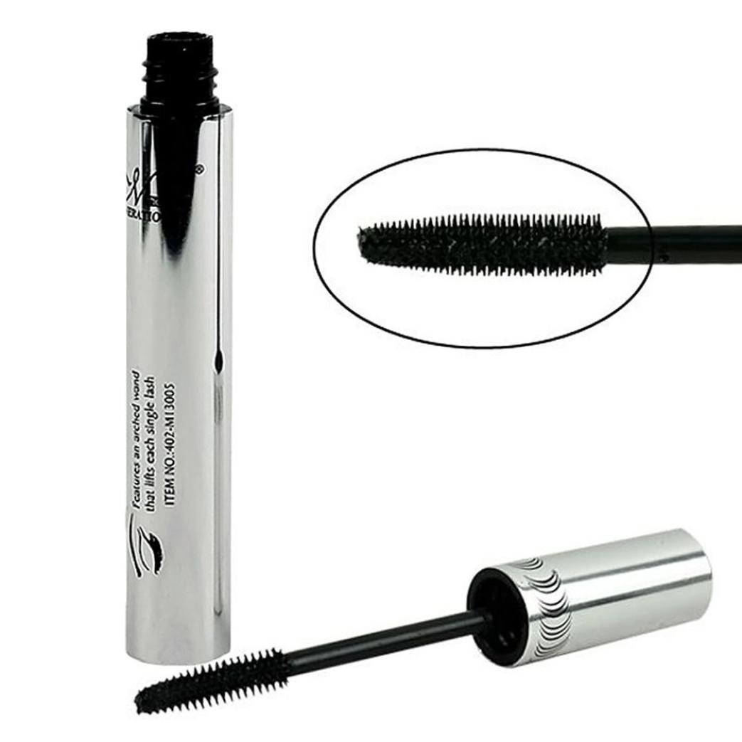 Amazon.com : LtrottedJ Eye Lashes Makeup Waterproof Long Eyelash, Black Silicone Brush Head Mascara : Beauty