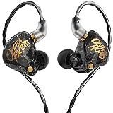 KBEAR OS1PRO - Auriculares in-ear con monitor para músicos, auriculares de alta fidelidad, auriculares con cable, graves diná