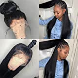 Arabella Lace Front Wigs Human Hair 10a 13x4 Lace Front Wigs Straight Wigs Human Hair With Baby Hair Pre Plucked Bleached Kno