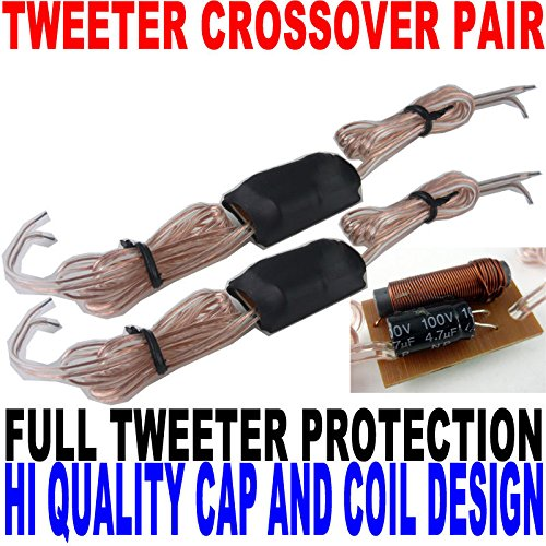 (Passive Tweeter Crossover Pair Cap and Coil Design For Best Sound)