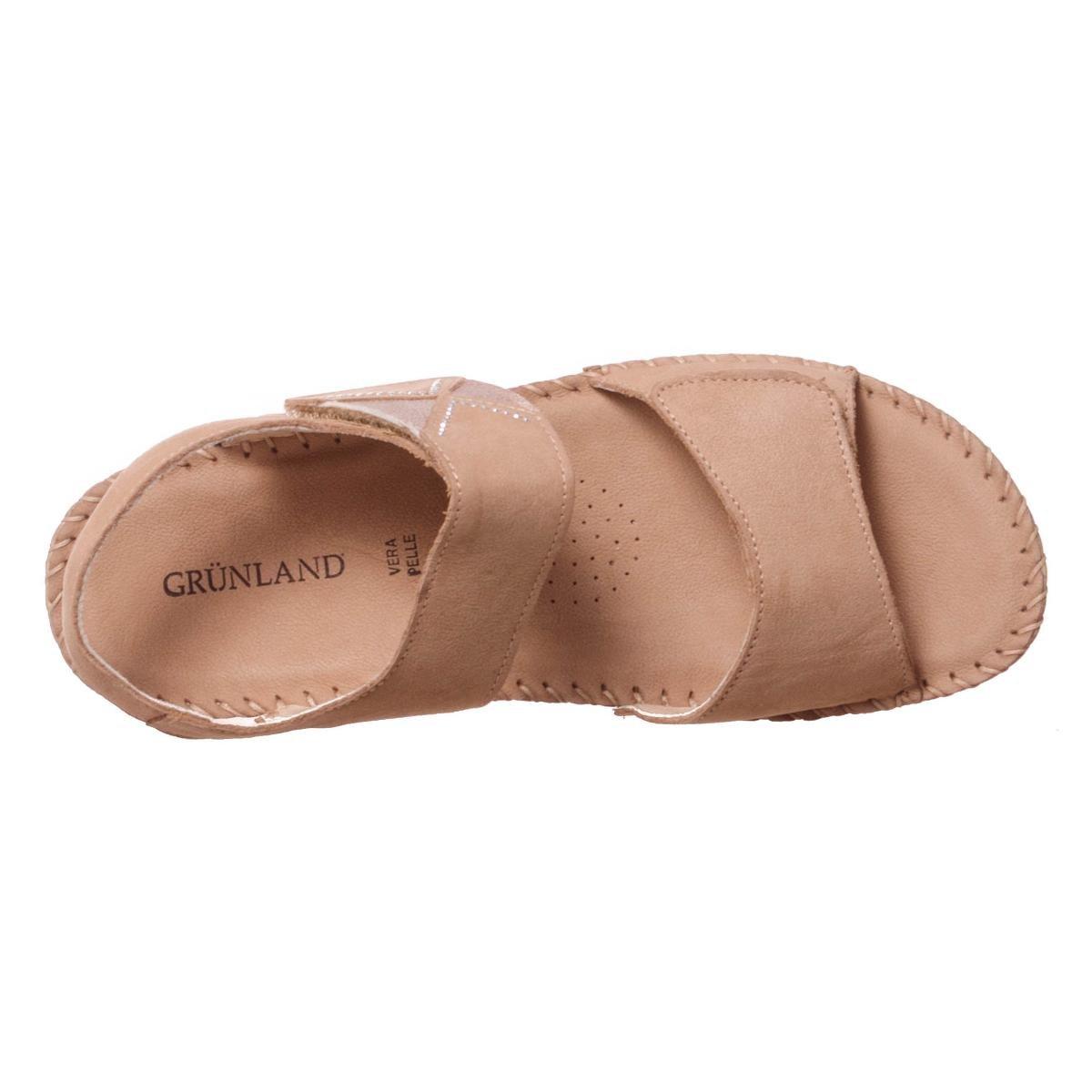 Grunland Saxo donna, pelle liscia, sandali Canapa Canapa sandali 7f4de2