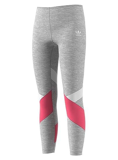 5ab5e6985cec07 adidas J Leggings (MD (10-12 Big Kids) x One Size): Amazon.co.uk: Clothing